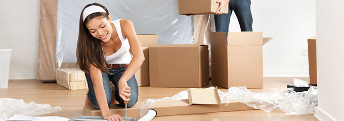 Packing materials for your home move
